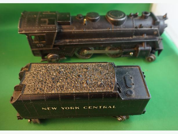 4U2C MAR ELECTRIC VINTAGE TRAIN AND COAL CAR