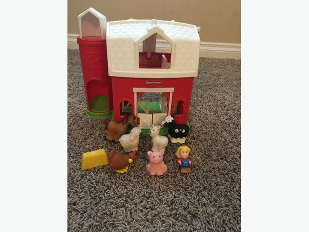 Little People Barn Set