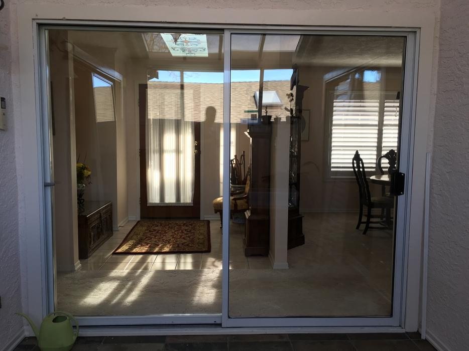 Sliding aluminum patio doors saanich victoria for Used patio doors