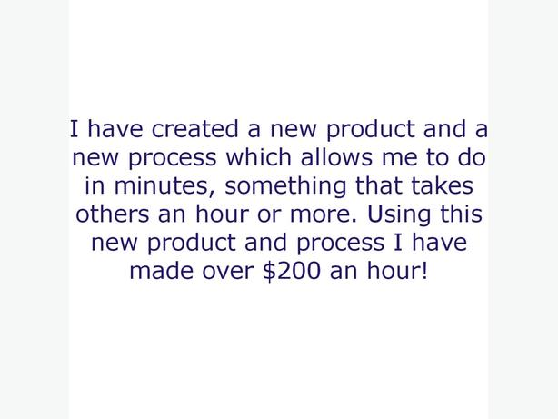You can make $80- $200 an hour if you don't mind working for it!