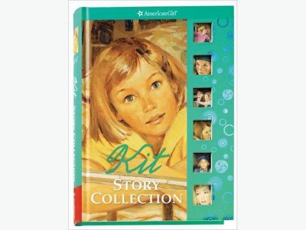 BOOK - AMERICAN GIRL KIT STORY COLLECTION - NEW