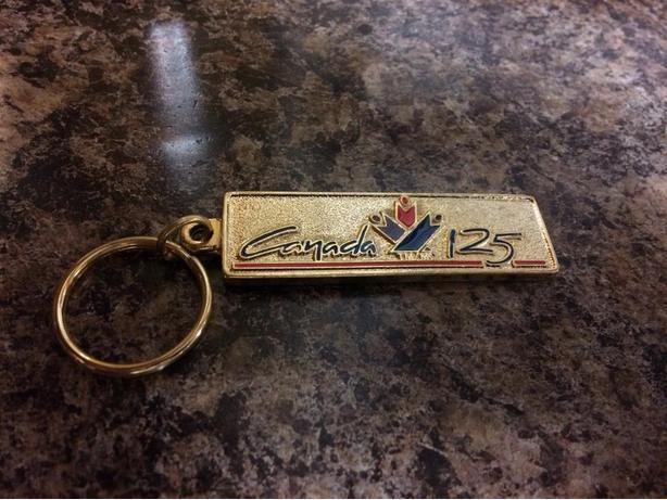 Anniversary 125 key chain
