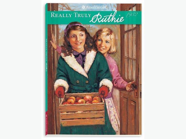 BOOK - AMERICAN GIRL REALLY TRULY RUTHIE - NEW