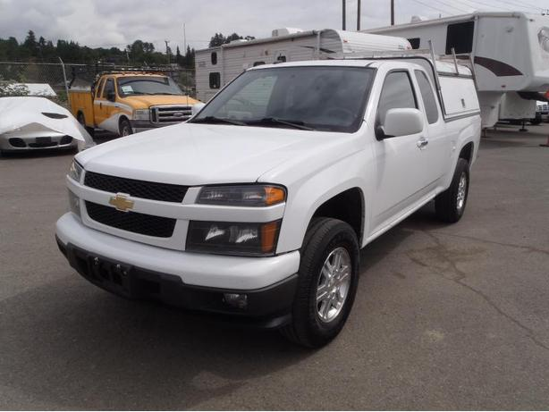 2012 Chevrolet Colorado LT Extended Cab 4WD with Canopy