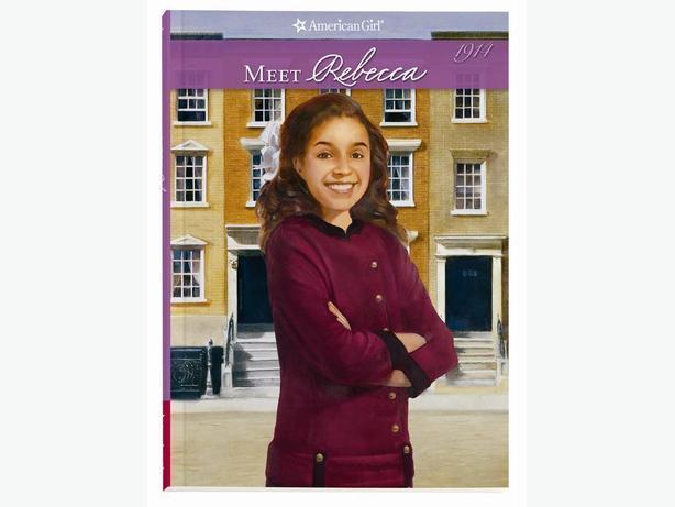 BOOK - AMERICAN GIRL MEET REBECCA - NEW