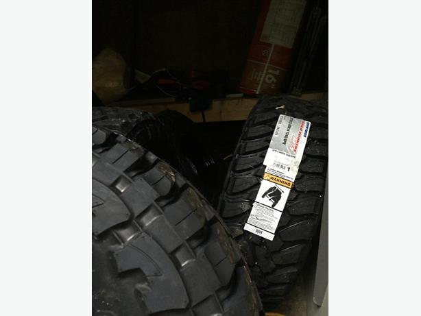 Brand New Set of 4 Toyo Open Counrty M/T Tires  with Rims