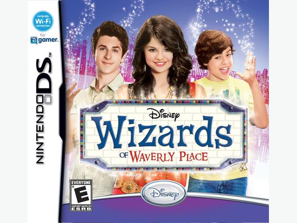 DISNEY WIZARDS OF WAVERLY PLACE NINTENDO DS GAME