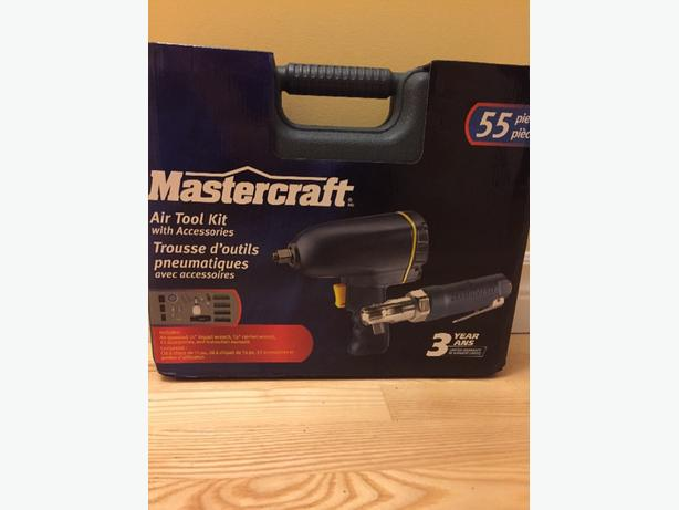 Air impact wrench and ratchet wrench