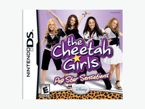 DISNEY CHEETAH GIRLS POP STAR NINTENDO DS GAME