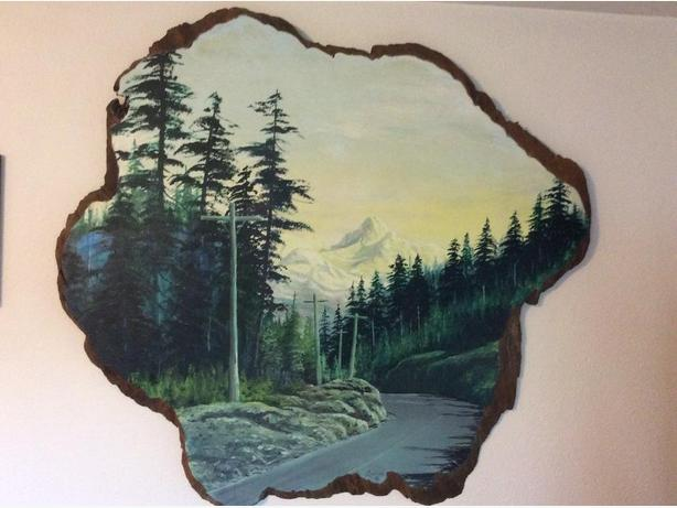 Oil Painted Burl