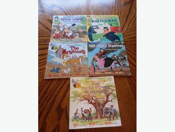 Collecter Childrens books with records