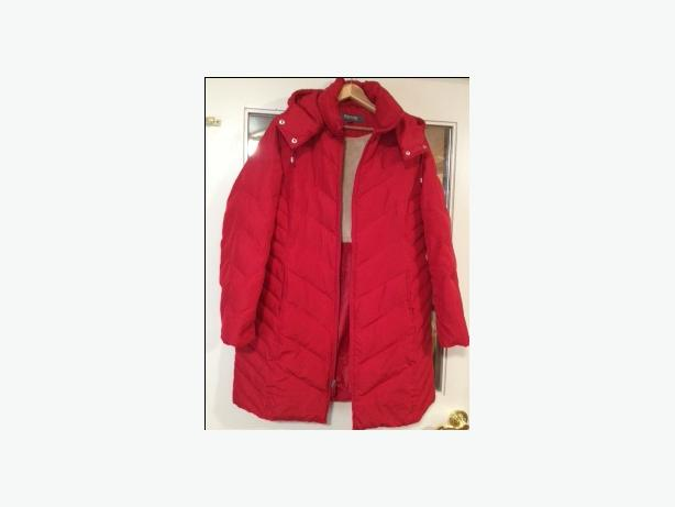 RED KENNETH COLE REACTION WOMEN'S WINTER COAT