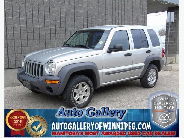 2002 Jeep Liberty Sport*4x4
