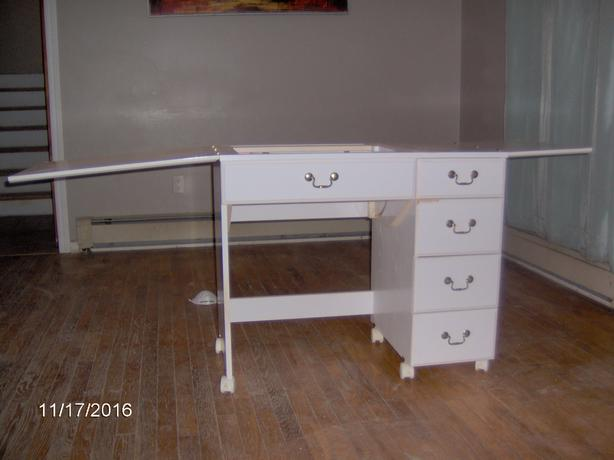 Sears Console Sewing Cabinet