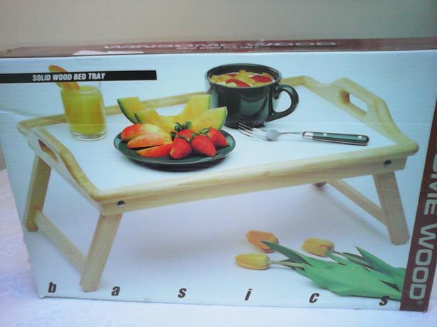 Breakfast/bed tray