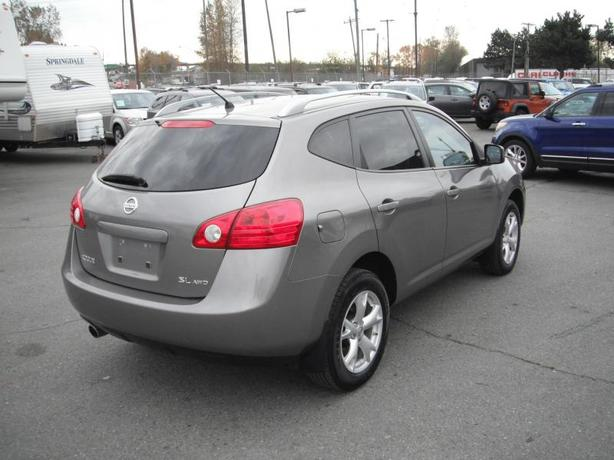 2009 nissan rogue sl awd outside comox valley courtenay. Black Bedroom Furniture Sets. Home Design Ideas