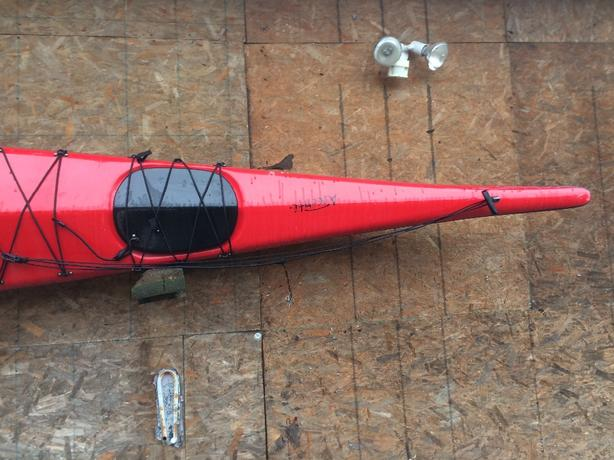 Seaward Single Kayak