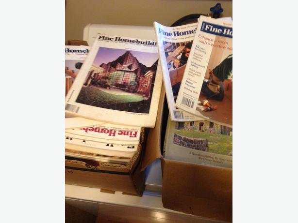Fine Homebuilding Magazine Collection