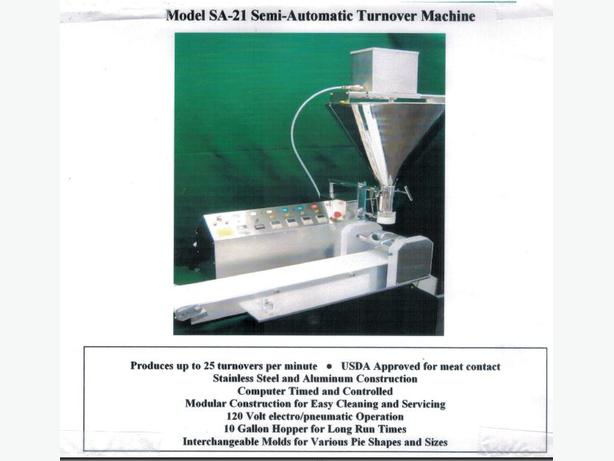 Piemaster Semi Automatic Turnover Machine On The Auction