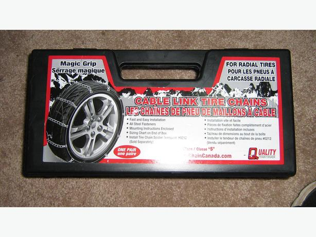 Tire Chains- Magic Grip  Cable Link Tire Chains by Quality Chain