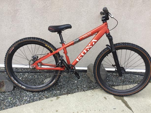 Kona Mountain Bike-Cowan 250-709-8840