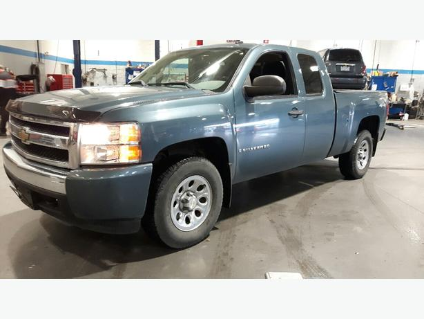 USED 2008 CHEVROLET SILVERADO 1500 4x4 EXTENDED CAB FOR SALE IN PARKSVILLE
