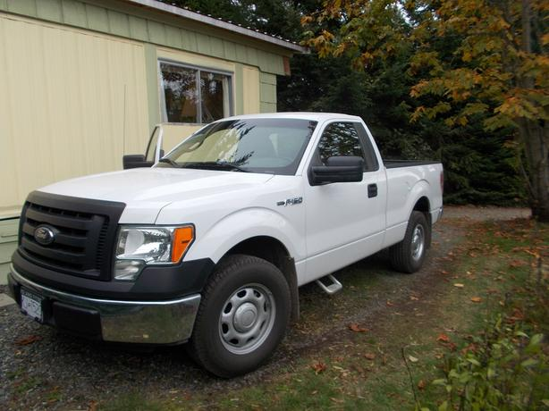 2012 F-150 XL ford pickup regular cab.