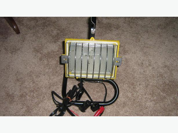 12 volt portable halogen light