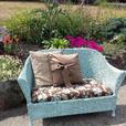 antique wicker loveseat