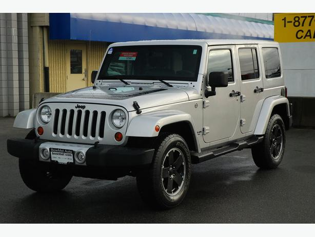 2012 Jeep Wrangler Unlimited Sahara Automatic