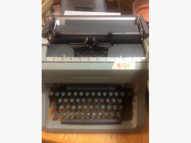 old tapewriter