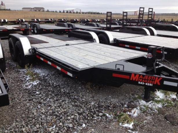 Bobcat Trailer Fenders : Majestik l ft bobcat tilt trailer rural regina