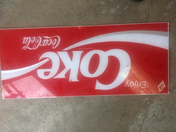 coca sign