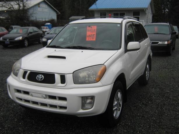 2003 Toyota Rav4 *AWD! JUST IN TIME FOR WINTER*