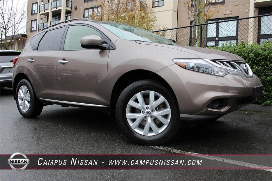 2013 Nissan Murano Sl Backup Camera Victoria City Victoria