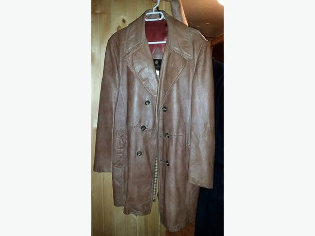Vintage Canadian 1970's Leather Jacket