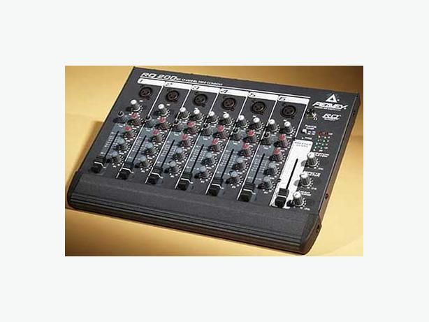 Peavey RQ200 6 channel mixer
