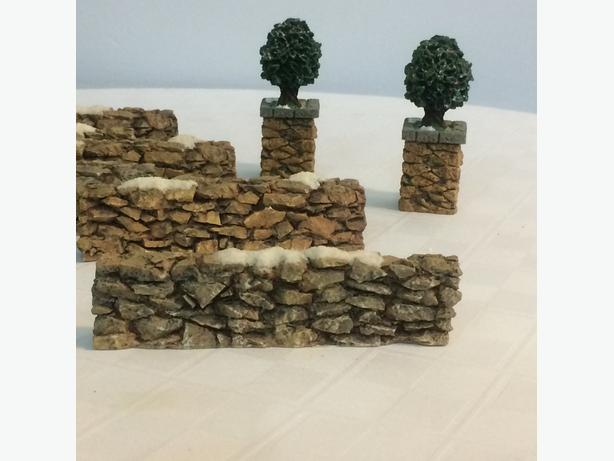 Dept 56 Rock Wall Fencing (Christmas Village)