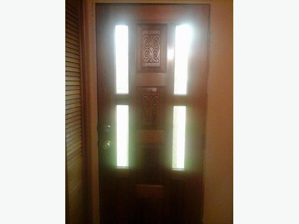 Nice  wooden exterior doors.