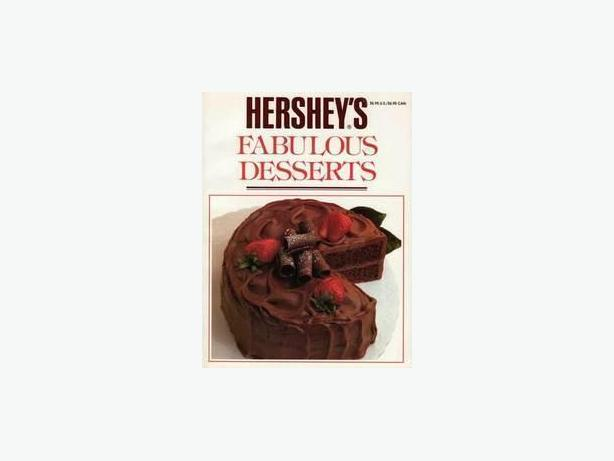HERSHEY'S FABULOUS DESSERTS - LIKE NEW