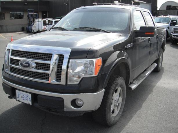 2010 Ford F-150 Lariat SuperCrew Flex Fuel 5.5-ft. Bed 4WD