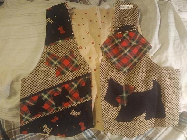 Scottie Dog Vest
