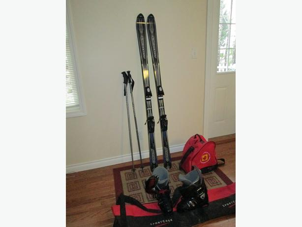 2 Complete Sets Rossignol / Head Skis