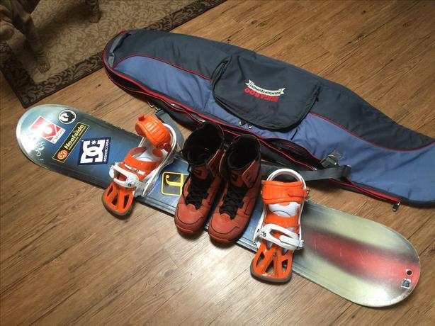 Used 164cm K2 snowboard
