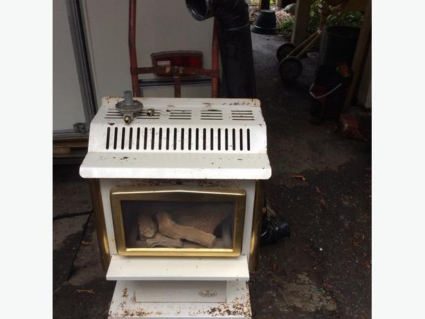 Osburn gas heater