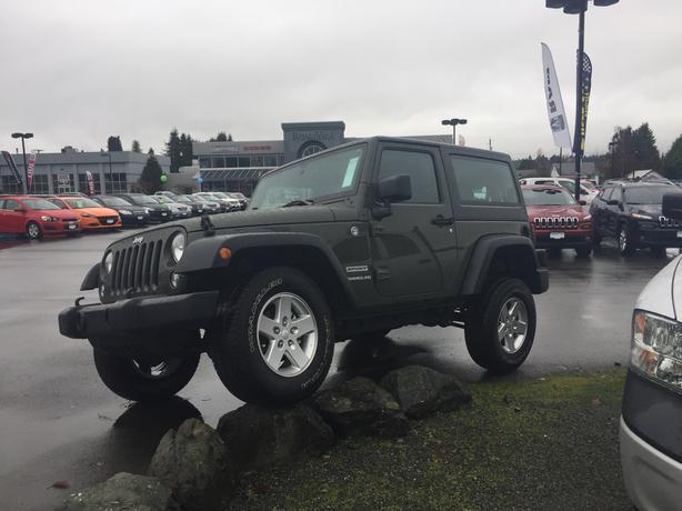 2015 Jeep Wrangler Sport **Only 10246 Km**
