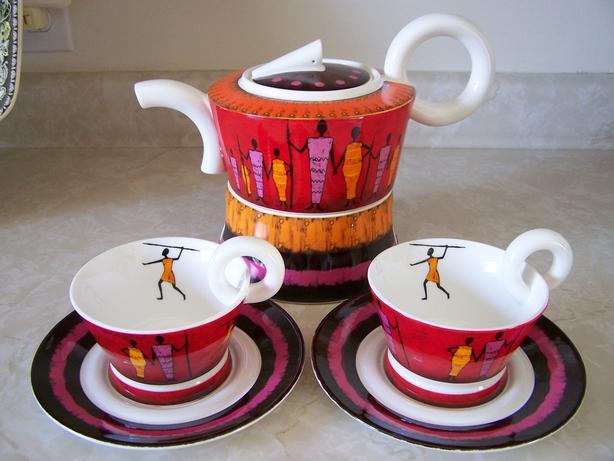 Teapot Set for 2