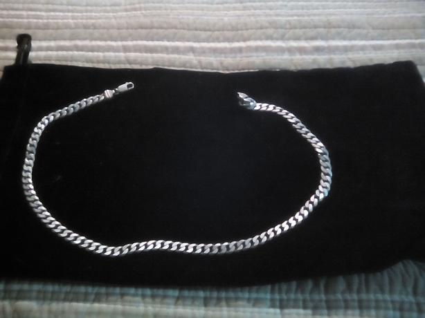 Sterling curb chain