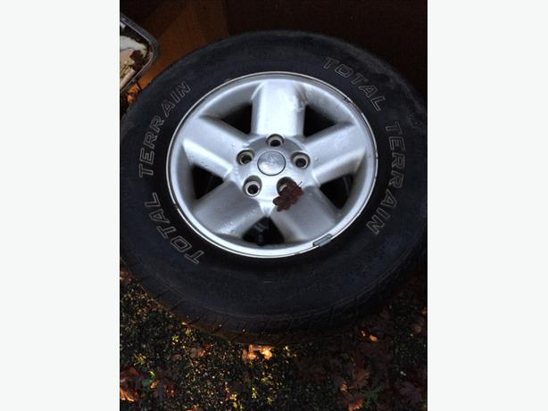 1500 dodge rims/tires 265/70R17