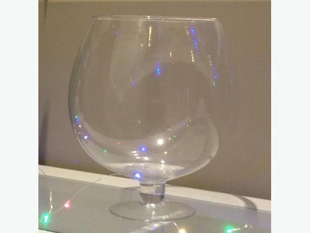 Huge Wine Glass Vase Or Fish Bowl Saanich Victoria